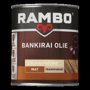 Rambo Bankirai Olie Transparant