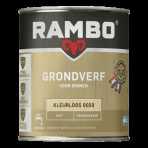 Rambo Grondverf Binnen Transparant