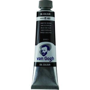 Royal Talens Van Gogh Olieverf 40 ml Van Dijckbruin
