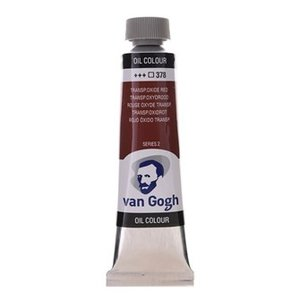 Royal Talens Van Gogh Olieverf 40 ml Transparantoxydrood