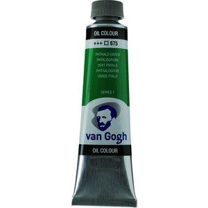 Royal Talens Van Gogh Olieverf 40 ml Phtalogroen