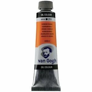 Royal Talens Van Gogh Olieverf 40 ml Cadmiumoranje