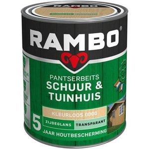 Rambo Pantserbeits Schuur & Tuinhuis Zijdeglans Transparant - 750 ml Blank