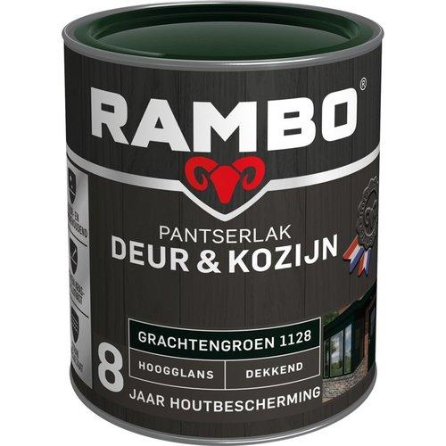 Rambo Pantserlak Deur & Kozijn Hoogglans Dekkend - 750 ml Grachtengroen
