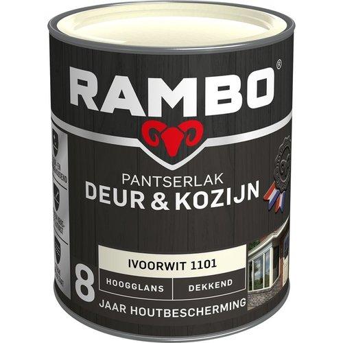 Rambo Pantserlak Deur & Kozijn Hoogglans Dekkend - 750 ml Ivoorwit