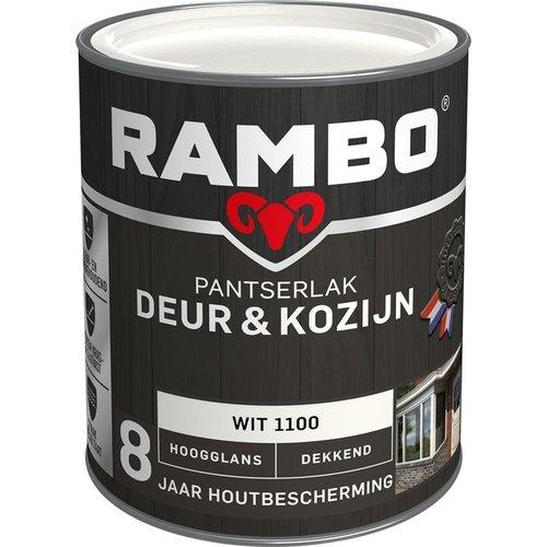 Rambo Pantserlak Deur & Kozijn Hoogglans Dekkend - 750 ml Wit