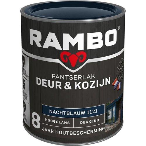 Rambo Pantserlak Deur & Kozijn Hoogglans Dekkend - 750 ml Nachtblauw