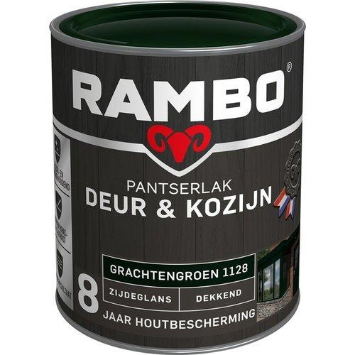 Rambo Pantserlak Deur & Kozijn Pantserlak Deur & Kozijn Zijdeglans Dekkend - 750 ml GrachtengroenTransparant - 750 ml Blank - Copy