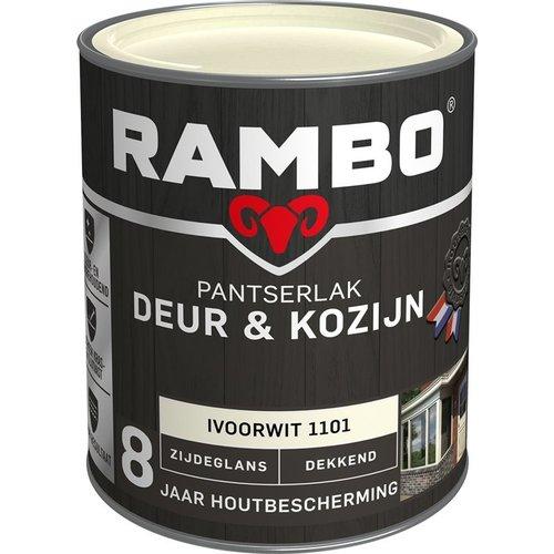 Rambo Pantserlak Deur & Kozijn Zijdeglans Dekkend - 750 ml Ivoorwit