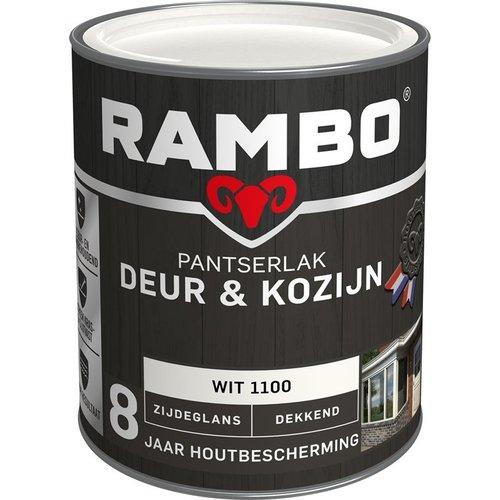 Rambo Pantserlak Deur & Kozijn Zijdeglans Dekkend - 750 ml Wit