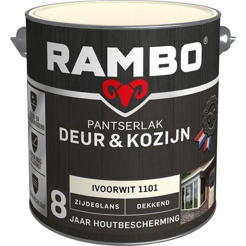 Rambo Pantserlak Deur & Kozijn Zijdeglans Dekkend - 2,5 liter Ivoorwit