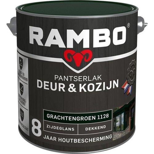 Rambo Pantserlak Deur & Kozijn Zijdeglans Dekkend - 2,5 liter Grachtengroen