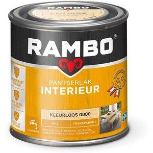 Rambo Pantserlak Interieur Transparant Mat - 250 ml Blank