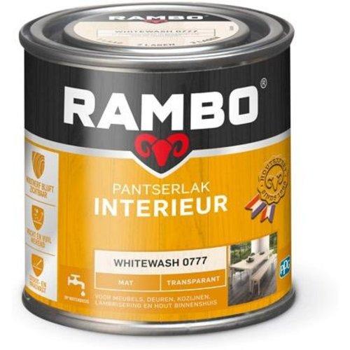 Rambo Pantserlak Interieur Transparant Mat - 250 ml Whitewash