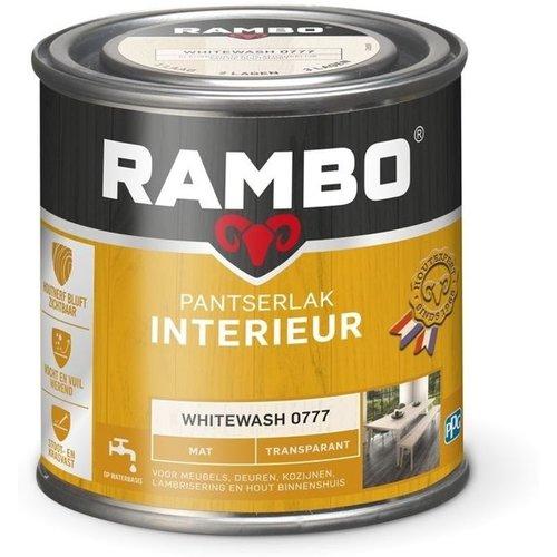 Rambo Pantserlak Interieur Transparant Mat - 750 ml Whitewash