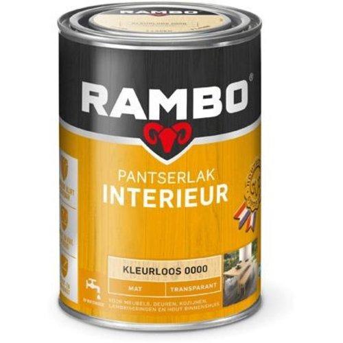 Rambo Pantserlak Interieur Transparant Mat - 1,25 liter Blank