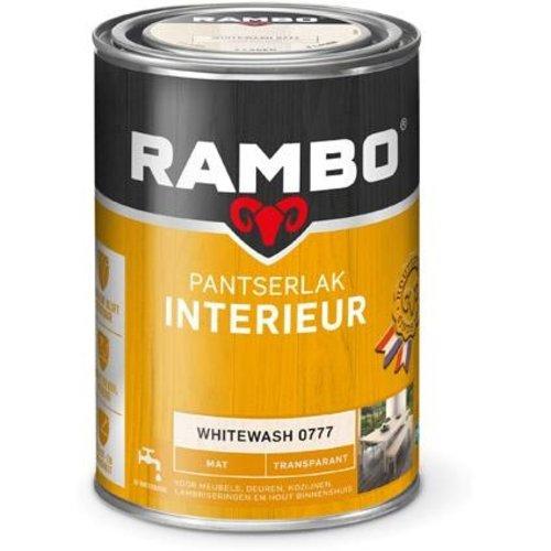 Rambo Pantserlak Interieur Transparant Mat - 1,25 liter Whitewash