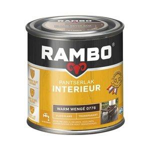 Rambo Pantserlak Interieur Transparant Zijdeglans - 250 ml Warm wengé