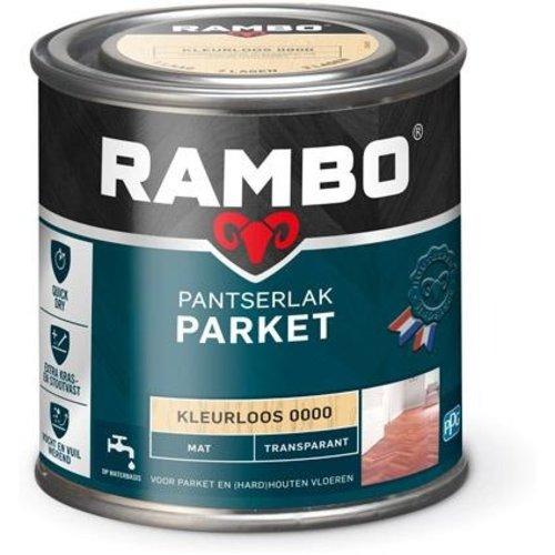 Rambo Pantserlak Parket Transparant Mat - 250 ml Blank