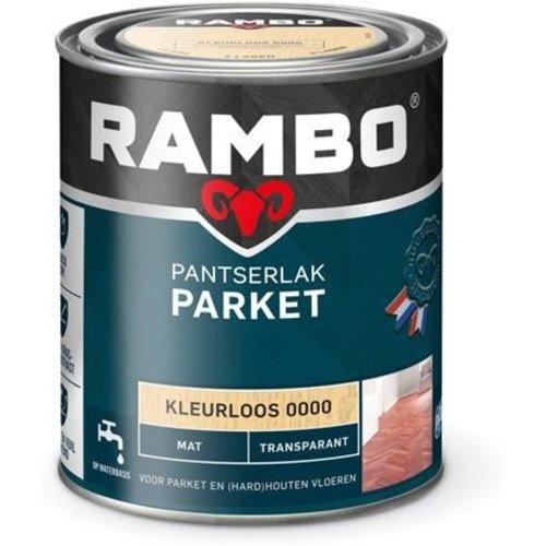 Rambo Pantserlak Parket Transparant Mat - 750 ml Blank