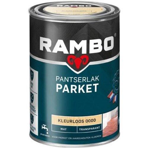 Rambo Pantserlak Parket Transparant Mat - 1,25 ml Blank
