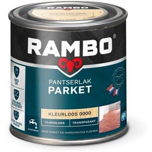 Rambo Pantserlak Parket Transparant Zijdeglans - 250 ml Blank
