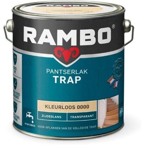 Rambo Pantserlak Trap Transparant Zijdeglans - 2,5 liter Blank