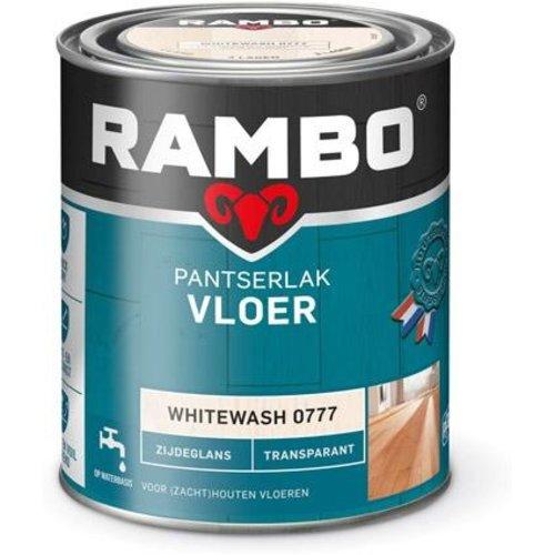 Rambo Pantserlak Vloer Transparant Zijdeglans - 750 ml Whitewash
