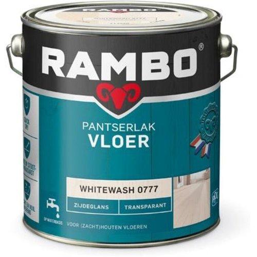 Rambo Pantserlak Vloer Transparant Zijdeglans - 2,5 liter Whitewash