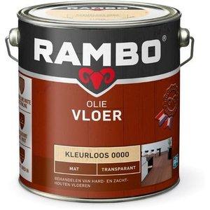 Rambo Vloer Olie Transparant Mat - 2,5 liter Blank