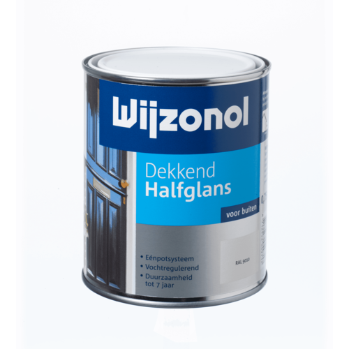 Wijzonol Dekkend Halfglans 750 ml 9135 Papyruswit