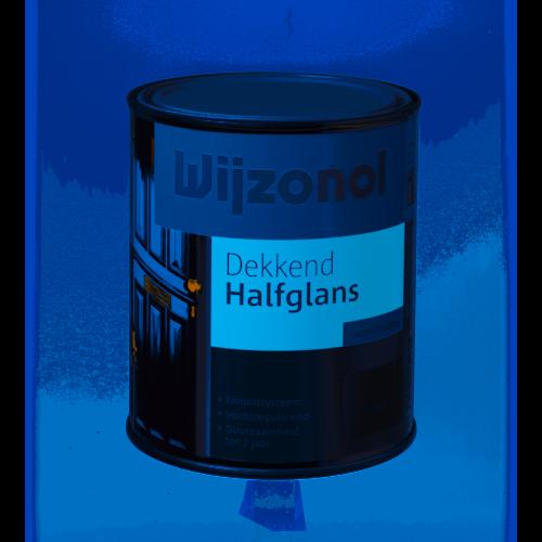 Wijzonol Dekkend Halfglans 750 ml 9400 Klassiekbruin