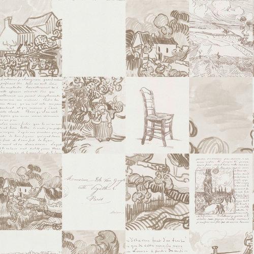 BN Wallcoverings Behang Van Gogh 220030