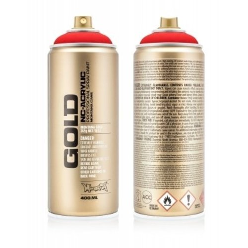 Montana Gold 400ML F3000 Fire Red