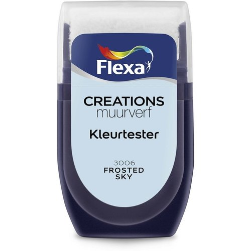Flexa Kleurtester Frosted Sky