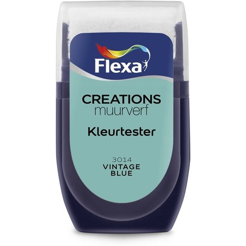 Flexa Kleurtester Vintage Blue