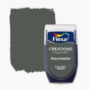 Flexa Kleurtester Factory Green