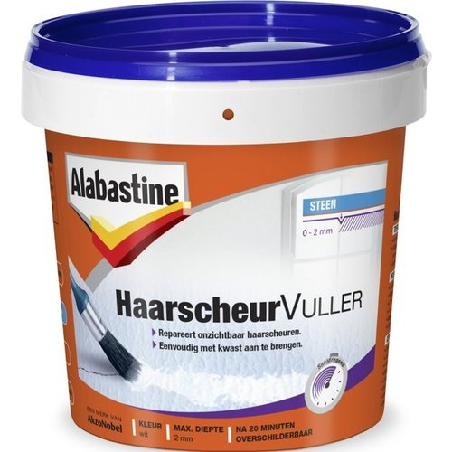 Alabastine Haarscheuren Vuller - 250 ml