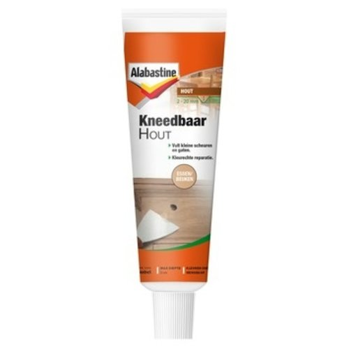 Alabastine Kneedbaar Hout - 75 gram Essen/Beuken