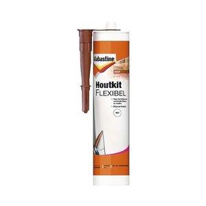 Alabastine Houtkit Flexibel - 300 ml Wit