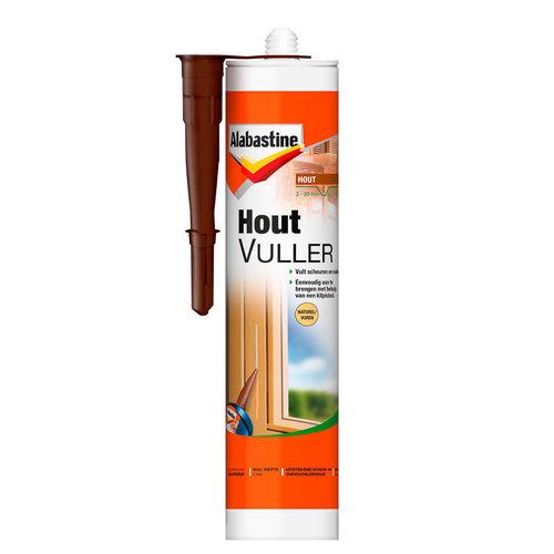 Alabastine Houtvuller - 485 gram Naturel Koker