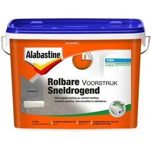 Alabastine Rolbare Voorstrijk Sneldrogend - 5 liter Transparant