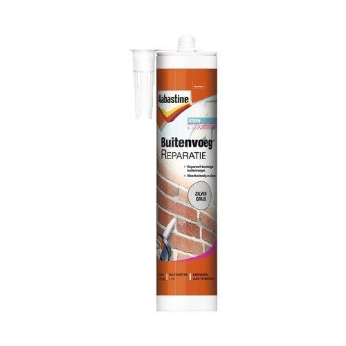 Alabastine Buitenvoeg Reparatie - 310 ml Donkergrijs