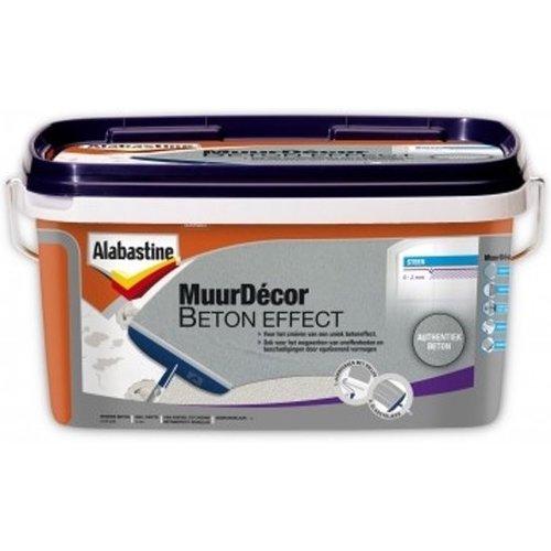Alabastine Muurdecor - 5 liter Authentiek Beton