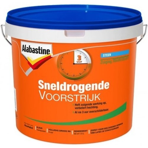 Alabastine Voorstrijk Sneldrogend - 1 liter Transparant