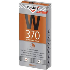Polyfilla Pro W370 2K Grote Houtreparatiepasta - 600 ml