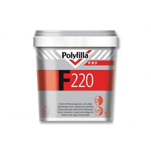 Polyfilla Pro F220 Vulmiddel