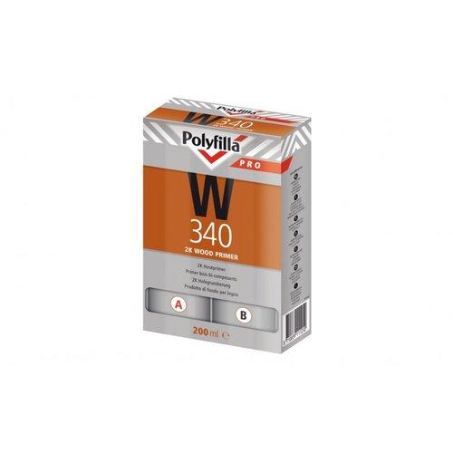 Polyfilla Pro W340 2K Houtprimer - 200 ml