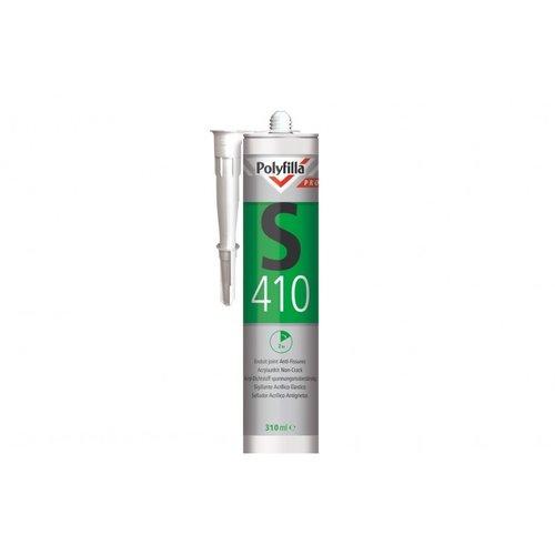 Polyfilla Pro S410 Acrylaatkit Non-Crack - 310 ml