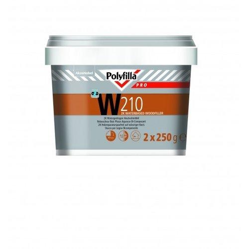 Polyfilla Pro W210 2k Houtvulmiddel - 500 gram